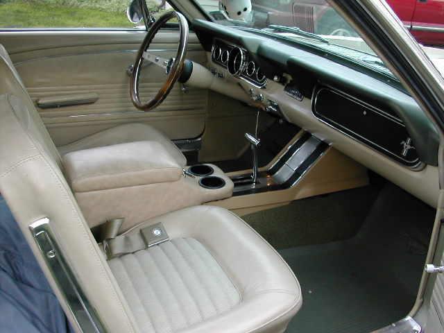 Parchment Interior 1966 Mustang Hardtop