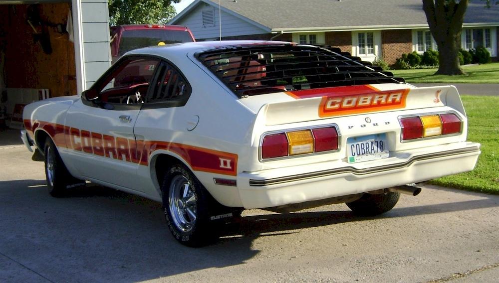 1978 Mustang King Cobra Horsepower