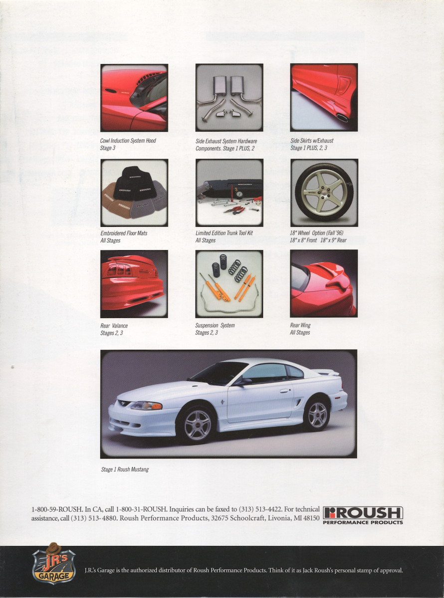 1995 Roush Mustang features
