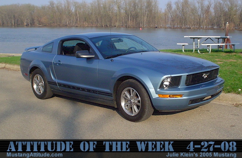 Windveil Blue 2005 Mustang