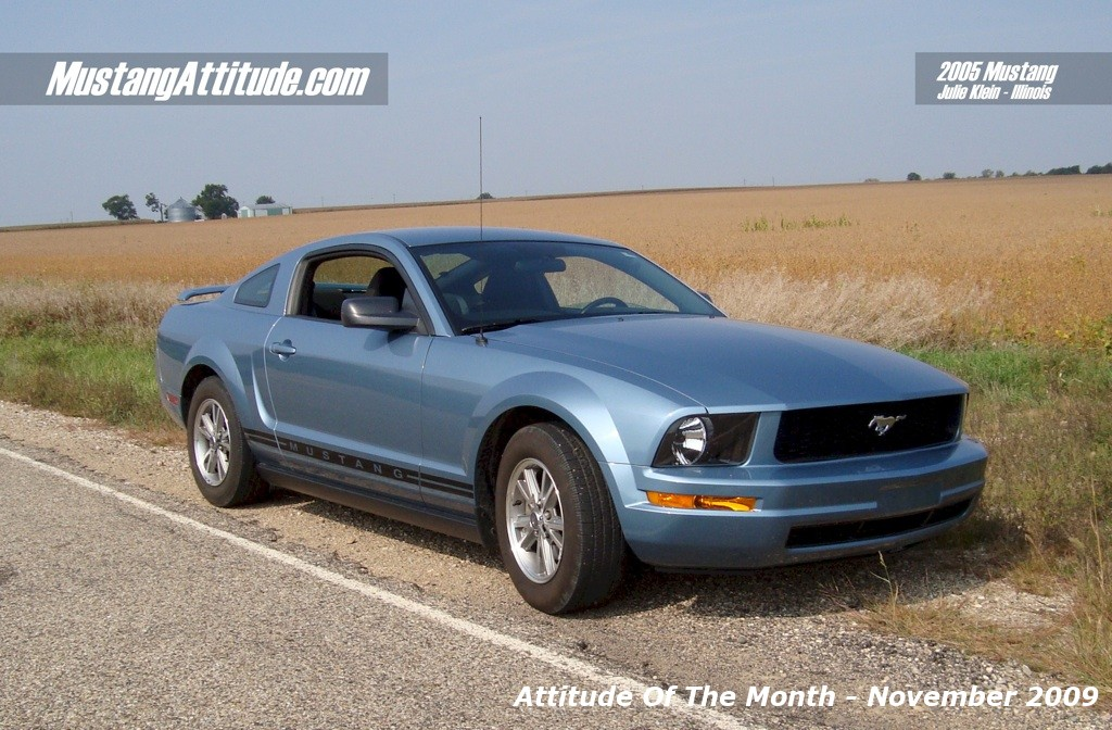 Windveil Blue 05 Mustang Coupe