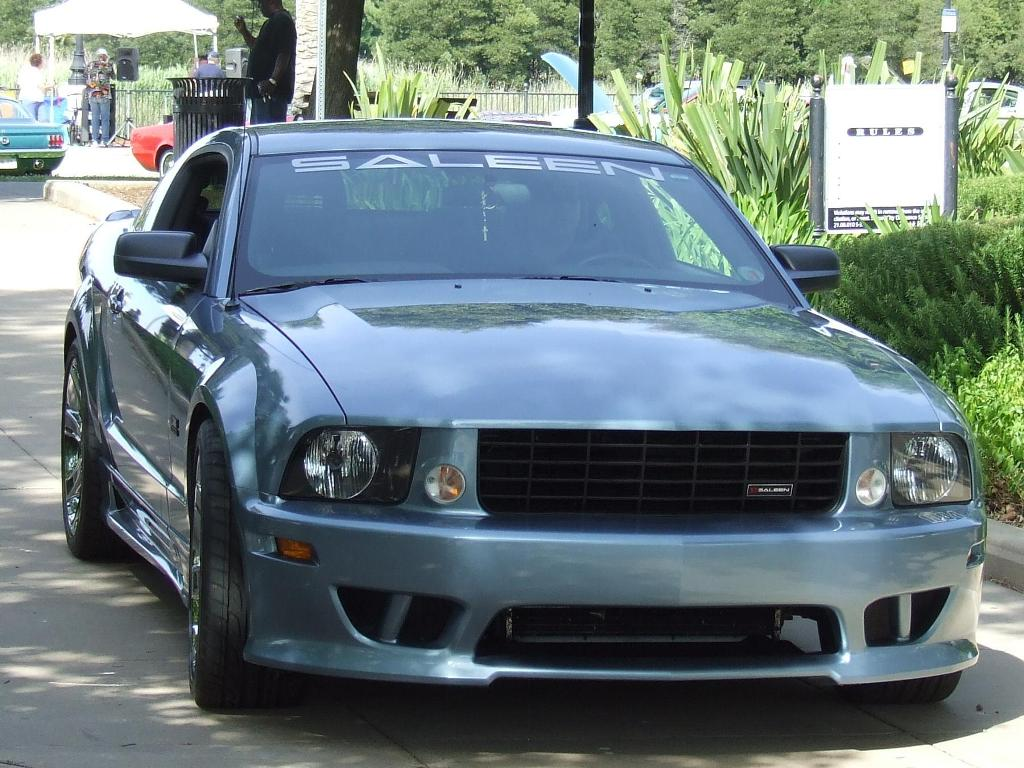 Windveil Blue 2005 Mustang Saleen Coupe