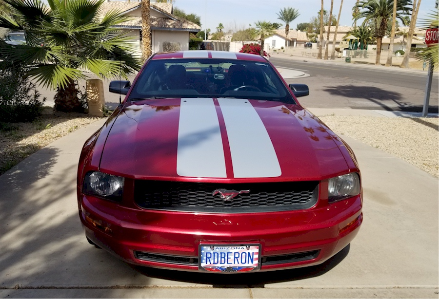 Red Fire 2005 Mustang SDS Coupe