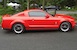 Custom Torch Red 2006 Mustang V6 Coupe