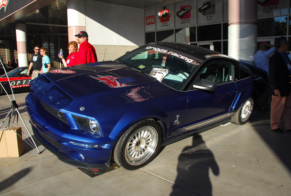 2007 Custom GT500KR Shelby Mustang at SEMA 2007