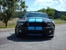 Black 10 Mustang Shelby GT500 Coupe with Grabber Blue Stripes