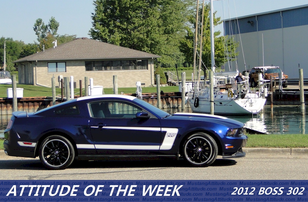Kona Blue 2012 Boss 302